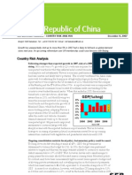 SEB Country Analysis 2008 Taiwan