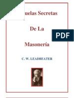 Escuelas Secretas de La Masoneria Capitulo 1 c w Leadbeater