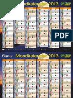 Jahresmondkalender_2013, mjesečev sjetveni kalendar