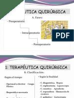 TERAPEÚTICA QUIRURGICA