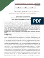 A Biokinetic Model for Decolorization of Distillery Waste Using Asperigillus Niger