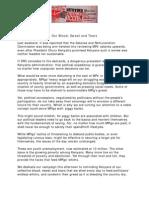 #OccupyParliamentReloaded Press Release