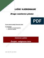 KATOLIČKI VJERONAUK - PRVI RAZ 2 NP