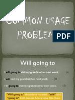 Common Usage Problems