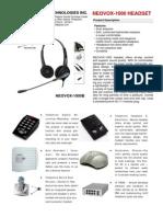 Kj 1000b & Corporate Brochure 2