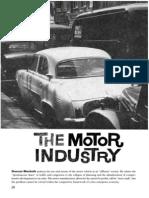Duncan Macbeth- The Motor Industry