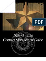 Contract Management Guide (Texas)