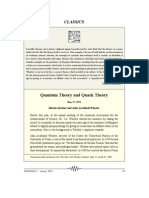 Quantum Theory1