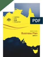 Business Plan 2010 11