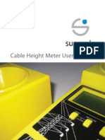 Cable Height Meter User Manual