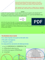 Gravity - Theoritical Gravity ppt