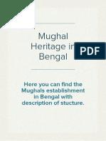 Mughal Heritage in Bengal