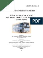 Bus Body Design Ais 052