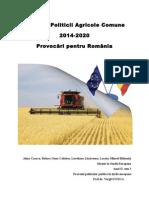 Reforma PAC 2014-2020 - Provocari Pentru Romania Raluca