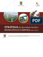 Strategia de Dezvoltare Locala Campina 2011 2017 Final