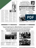 Versión impresa del periódico El mexiquense 11 junio 2013