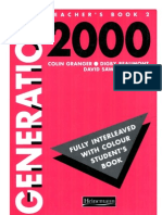 Teacher's Book-generation 2000