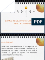 Presentazione IMAGINE ITA. Def