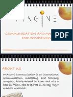 Presentazione IMAGINE ENG.def