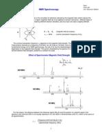 NMR Handout