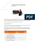 The Leadership Motivation Assessment