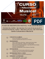 V Curso de Perfeccionamiento Musical Ciutat d'Ibi 2013 - Final- Rectificado