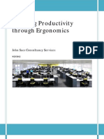 Boosting Productivity Through Ergonomics