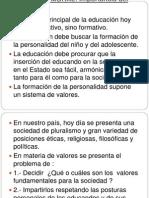 EDUCACIÓN MORAL, presentación 1
