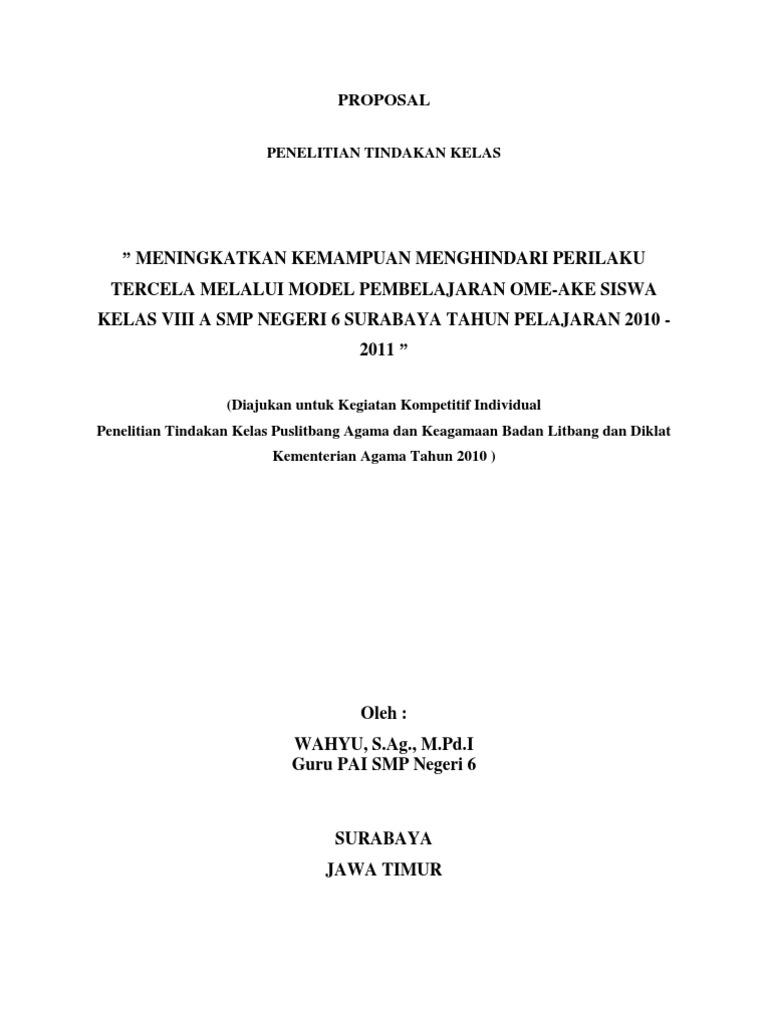 Proposal Ptk Pai Smp