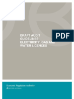 Travel Draft Standard Audit Scope