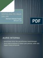 Anatomi & Histologi Telinga Dalam Marhaeni 09.119