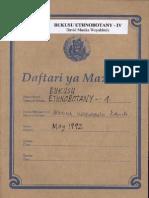 Bukusu Ethnobotany - IV