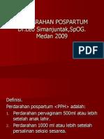 PERDARAHAN POSPARTUM