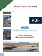 Cap Mineria Informe Ambiental 2002