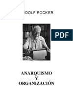 Rudolf Rocker - Anarquismo