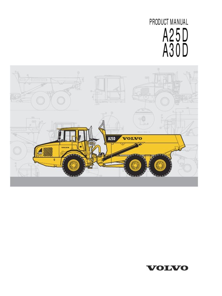 Astonishing Volvo Dumper A25D A30D Manual Wiring Digital Resources Tziciprontobusorg