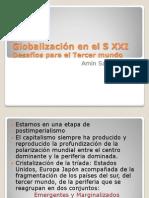 """Power Point """"Los desafíos del tercer mundo"""". (Amin, Samir) 2009"""