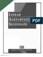 Linear AlkylBenzene Sulfonate Mono Graph