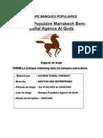 Rapport de Stage-Banque Populaire 1