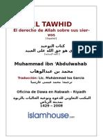 EL TAWHID El derecho de Allah sobre sus siervos