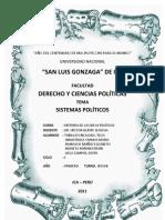 Historia de Las Ideas Sistemas Politikos