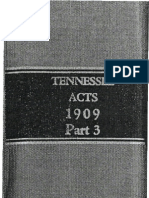 Reelfoot Lake 1909 - HJ 26 - Authority of Report of Findings at Reelfoot Lake