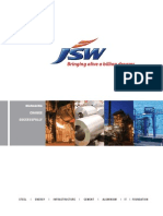 JSW - Corporate Brochure
