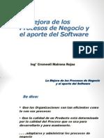 Proceso de Negocios y El Aporte Del Software