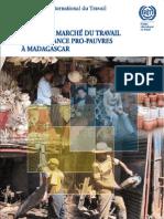 Pauvreté, marché du travail et croissance pro-pauvres á Madagascar (BIT)
