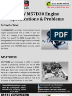 BMW M57D30 Engine