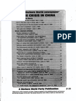 Crisis in China Pamphlet