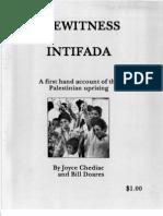 Eyewitness Intifada Pamphlet