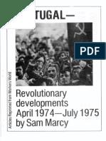 Portugal Revolutionary Developments Pamphlet