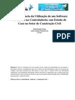 Importancia da Utilização de software na gestão da construção civil